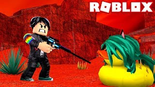 CLEANING LULY PATO at ROBLOX😨😱