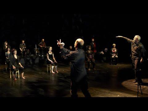 Batik Soundpainting Orchestra  - Open Land Part1 - Soundpainted by Eric Chapelle & Walter Thompson