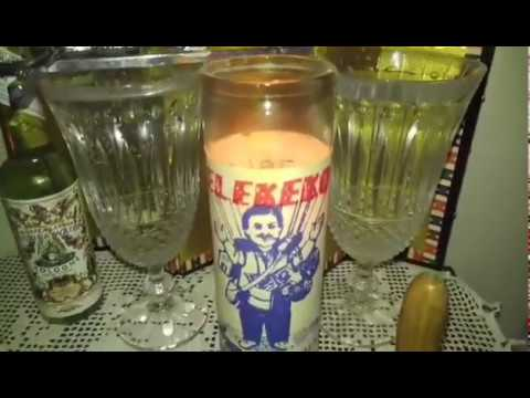 Brujeria Preparing a Candle / Candle Magic Hoodoo Witchcraft