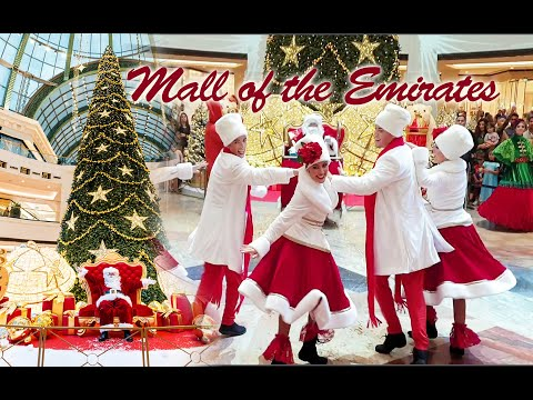 Christmas showers at Mall of the Emirates – #Thalisproductions