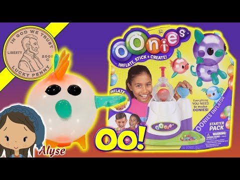 Oonies - Inflate, Stick & Create Starter Pack Kids Maker Set - Moose Toys