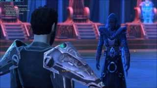 SWTOR (Full Darth Revan set!) Kallig vs Thanaton, Sith Inquisitor story ending.