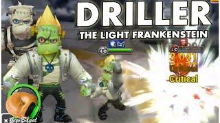 SUMMONERS WAR : Driller the Light Frankenstein (Gameplay + Arena Spotlight)