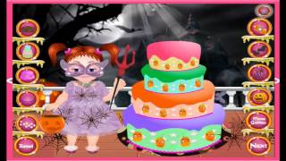 Emma Halloween Cake Halloween Video Game For Girls