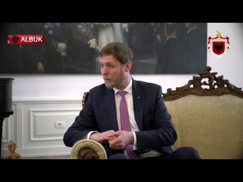 Prince Leka of Albania on ALB UK TV