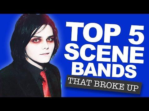 Top 5 Scene Bands That Broke Up
