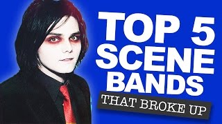 Top 5 Scene Bands That Broke Up