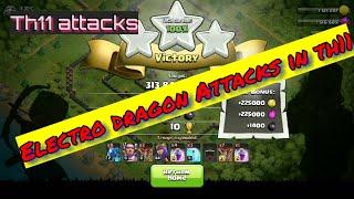 Electro dragon Attacks in th11