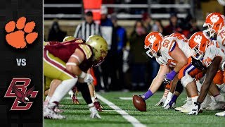 Clemson vs. Boston College Football Highlights (2018)