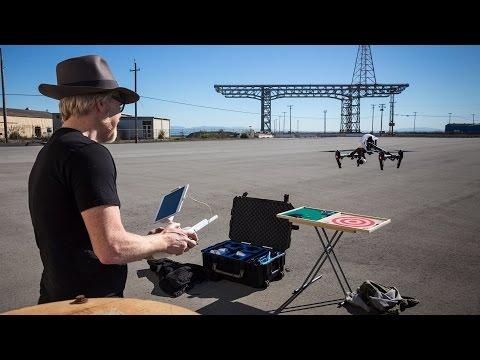 Adam Savage's Custom Quadcopter Gear