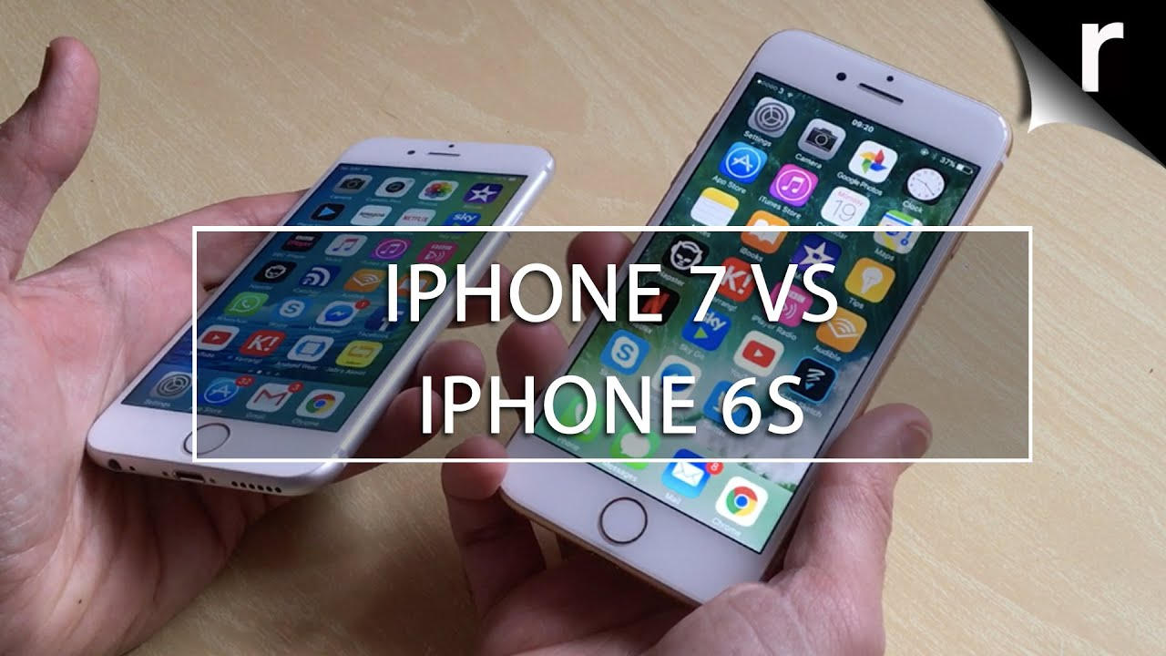 iPhone 7 vs iPhone 6s: What's the difference? - YouTube
