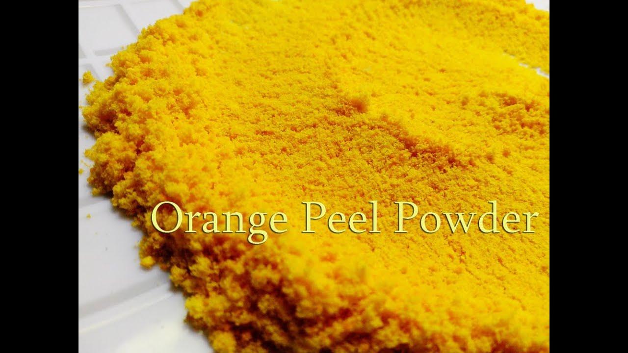 How to use orange peel?