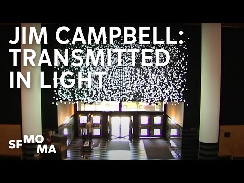 Jim Campbell: Transmitted in light
