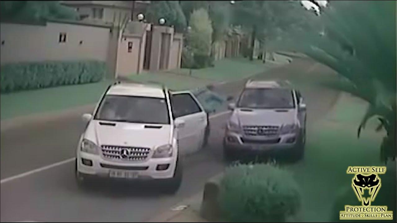 Effective Carjacking Defense Caught On Camera Active Self