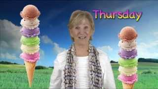 Dr. Jean's Today Is Sunday: Fun Song about Days of the Week including Today is Sunday