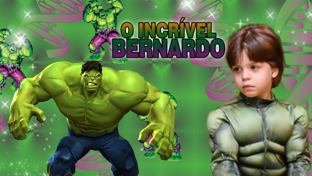 Convite Animado Virtual O Incrível Hulk Youtube
