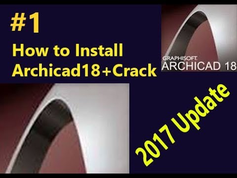1 How To Install Archicad 18 Crack 2017 Update Youtube