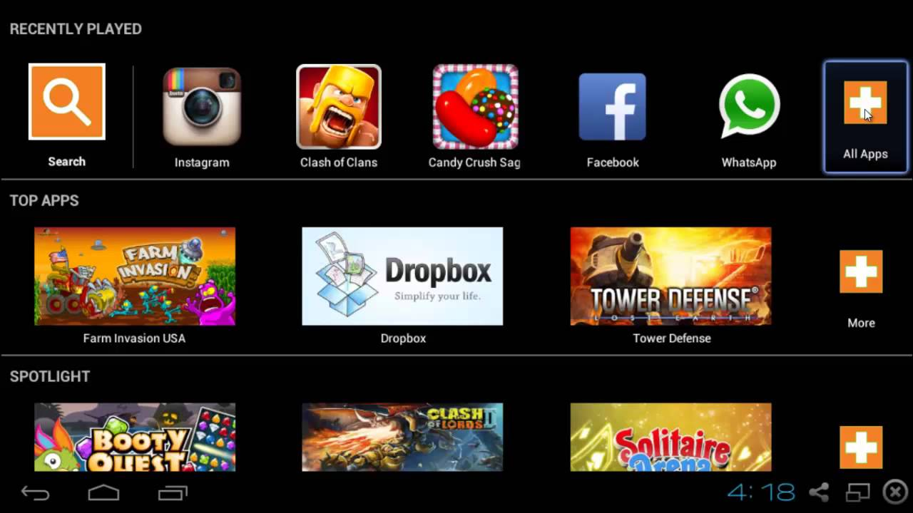 Where To Find All Apps Played On Bluestacks?