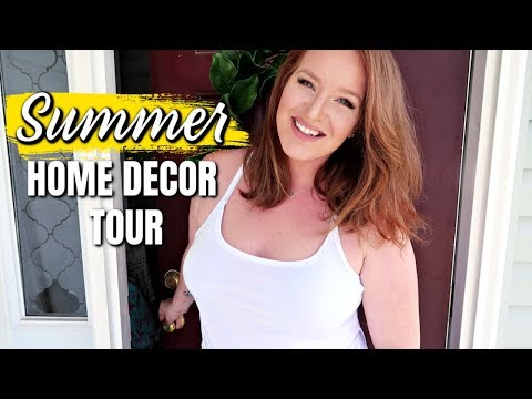 SUMMER HOME TOUR 2019 | FARMHOUSE DECOR | HOW TO DECORATE ON A BUDGET