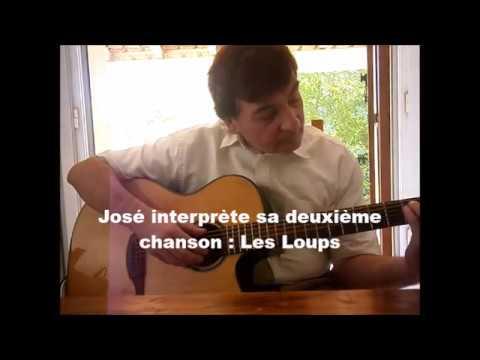 Youtube Chanson LES LOUPS  Paroles et Music De José Moréno