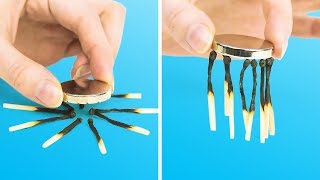 15 TRICKS AND HACKS WITH MAGNETS