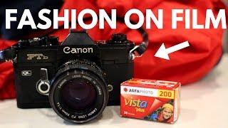 Fashion + Film Photography?   Canon FTb + Agfa Vista 200
