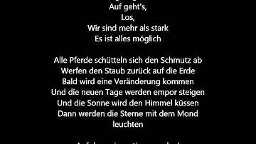 Lena - Wild and Free [Deutsche Übersetzung / German Lyrics]