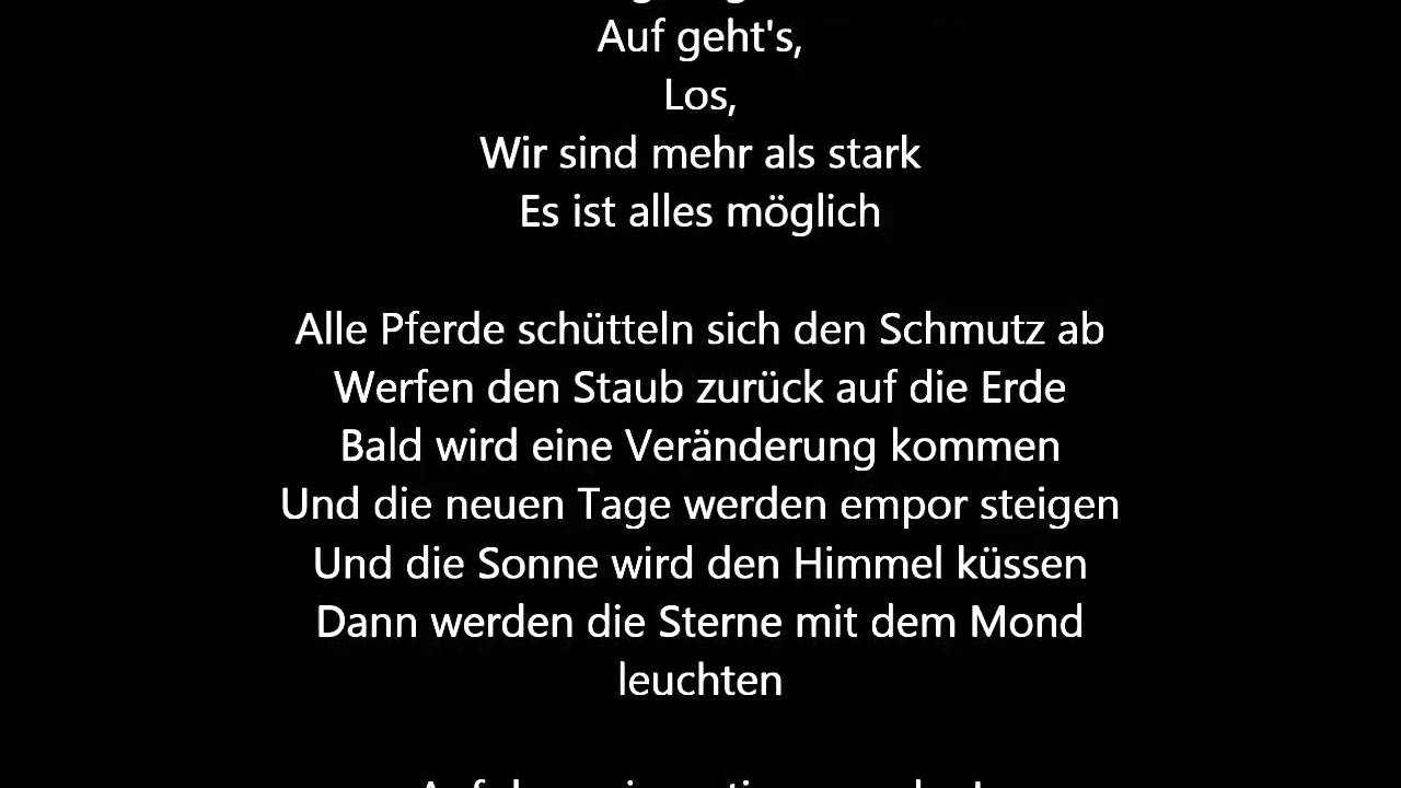 wild and free songtext deutsch