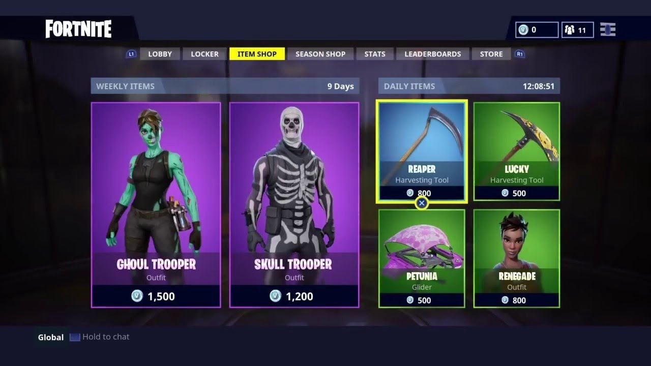Fortnite Item Shop Update What New Skins Are Sold For August 11
