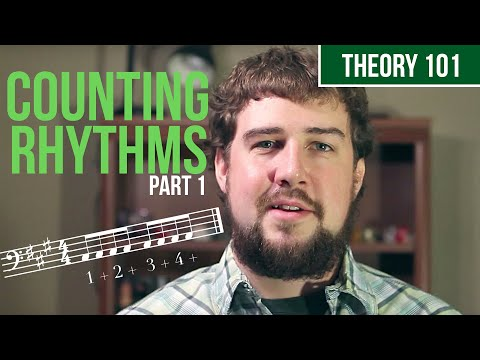 How To Count Rhythm, Part 1 – TWO MINUTE MUSIC THEORY #6