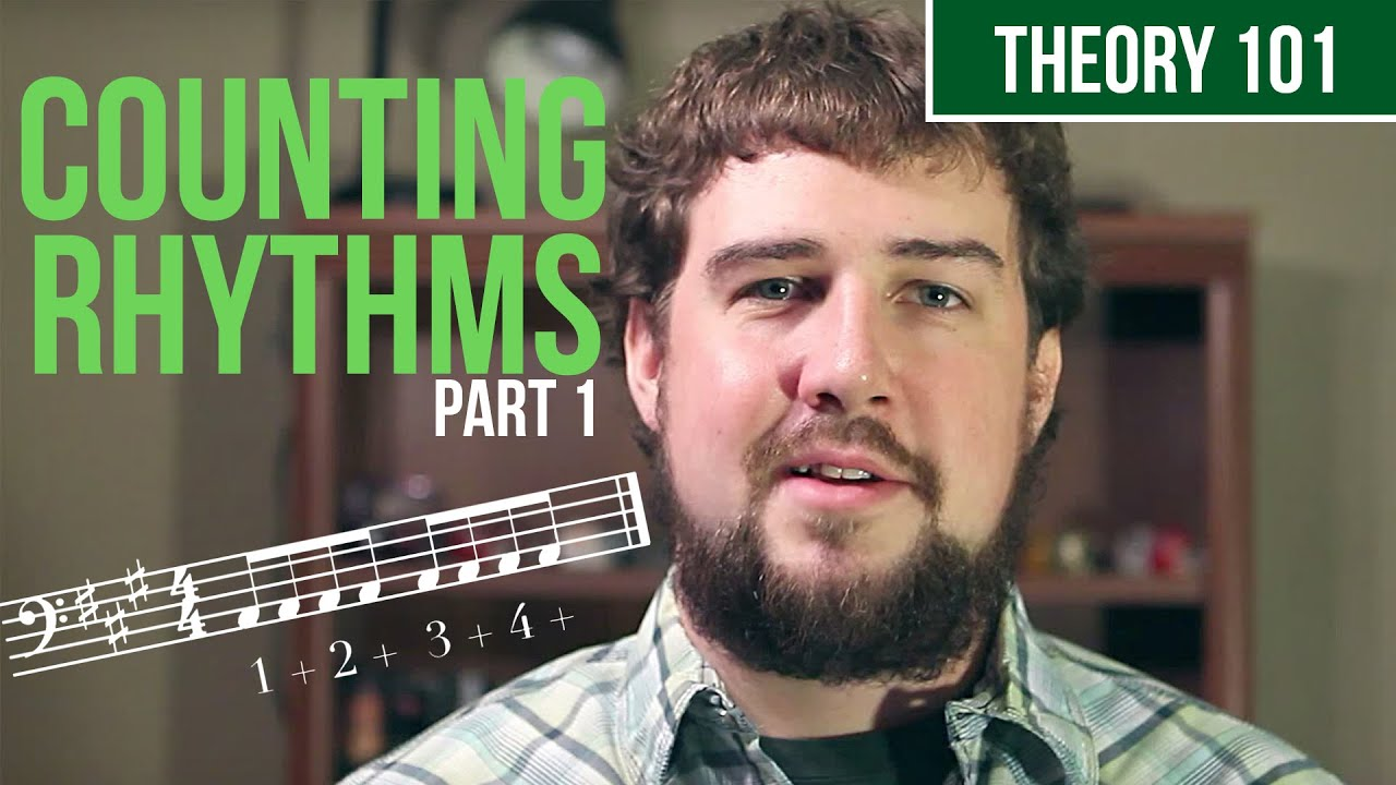 How To Count Rhythm Part 1 Two Minute Music Theory 6 Youtube