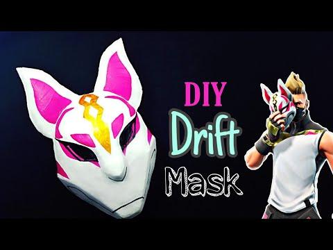 Making The DRIFT Mask | How to Make Drift Mask From FORTNITE
