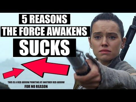 The Force Awakens is stupid and Jar Jar Abrams sucks