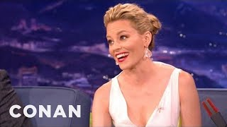 Video Elizabeth Banks On Dry-Humping At The MTV Movie Awards - CONAN on TBS download MP3, 3GP, MP4, WEBM, AVI, FLV Agustus 2018