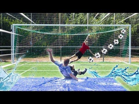 SLIP AND SLIDE Fußball Challenge (PART 2)