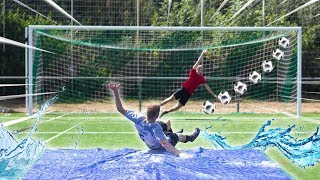 SLIP AND SLIDE Fußball Challenge (PART 2)