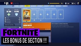 FORTNITE - SAUVER THE WORLD - SECTION BONUS !!!