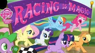 MLP Games: MLP FIM: Racing is Magic