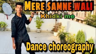 Mere samne wali khidki me || lyrical dance choreography || vikas || you can dance