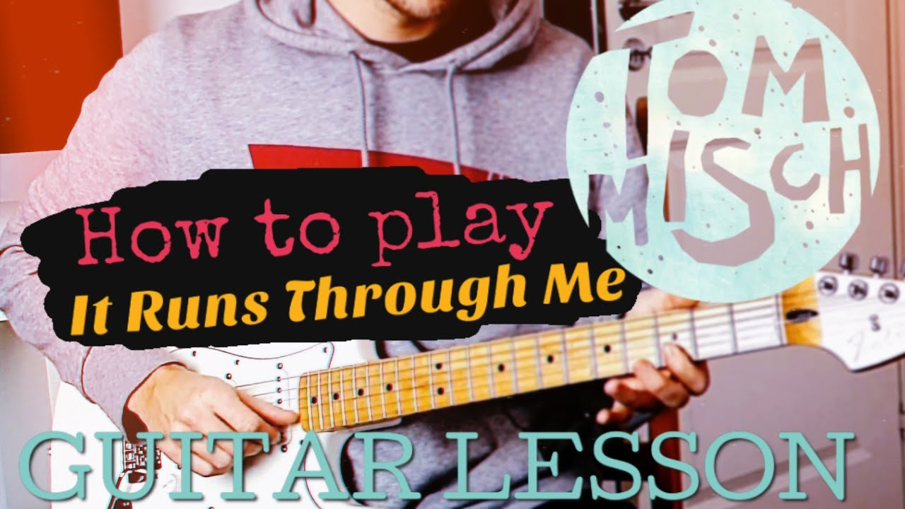 How To Play: Tom Misch - It Runs Through Me | Guitar Lesson