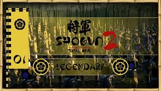 Let's Play Total War: Shogun 2 (Legendary) - Oda -  - Peasants Unite!