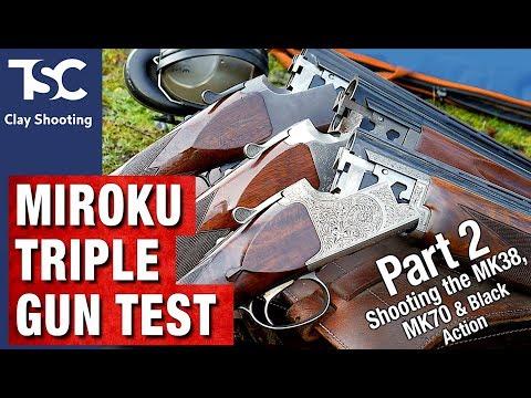 Miroku Triple Gun Test - part 2 - YouTube