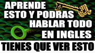 SOLO APRENDE ESTO Y DOMINARAS EL INGLES MUY RAPIDO Y FÁCIL – CURSO DE INGLES COMPLETO thumbnail