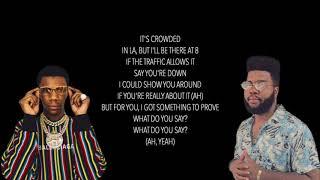 Khalid Right Back Remix Ft A Boogie Wit da Hoodie Lyrics