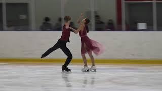 Первенство города Москвы Танцы на льду КMC Произвольный танец Дарья САВКИНА Михаил ЗОТОВ