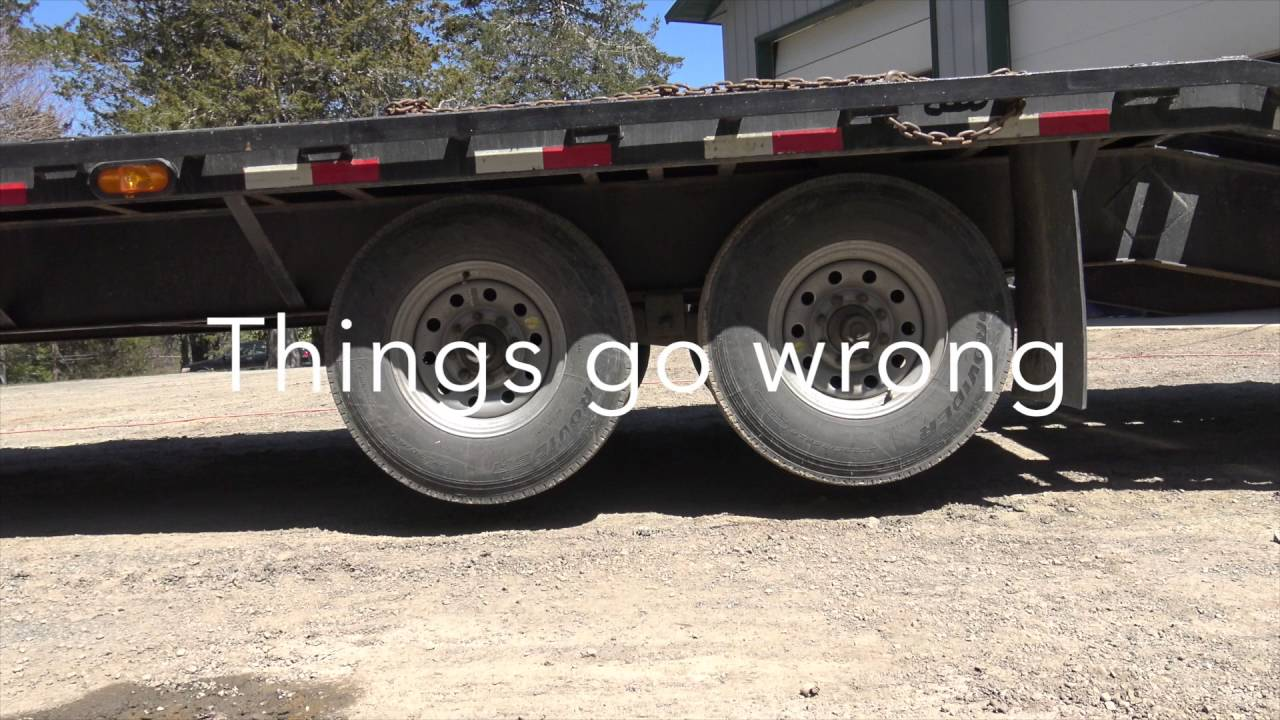 Pj Trailer Emergency Brake Test Failure Youtube Gooseneck Wiring Diagram