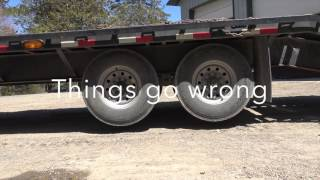 PJ Trailer Emergency Brake Test Failure