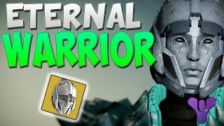 Destiny Eternal Warrior Helmet - Destiny Exotic Titan Gear - Destiny House of Wolves Exotics