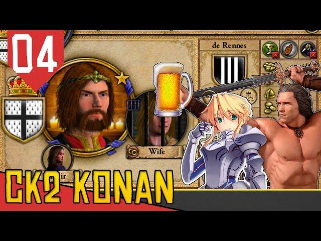 VIDA LONGA AO REI - CK2 Monarch's Journey Konan #04 [Série Gameplay Português PT-BR]