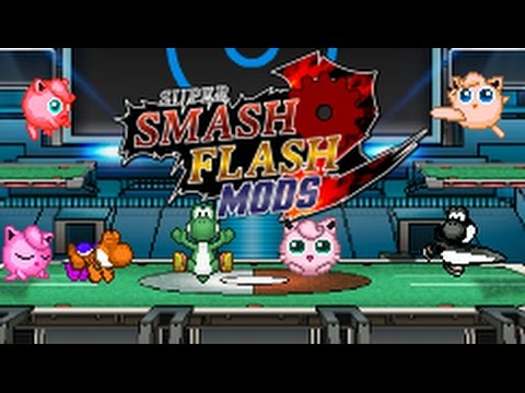 Super Smash Flash 2 Mods: Balanced Jigglypuff Beta + Balanced Yoshi